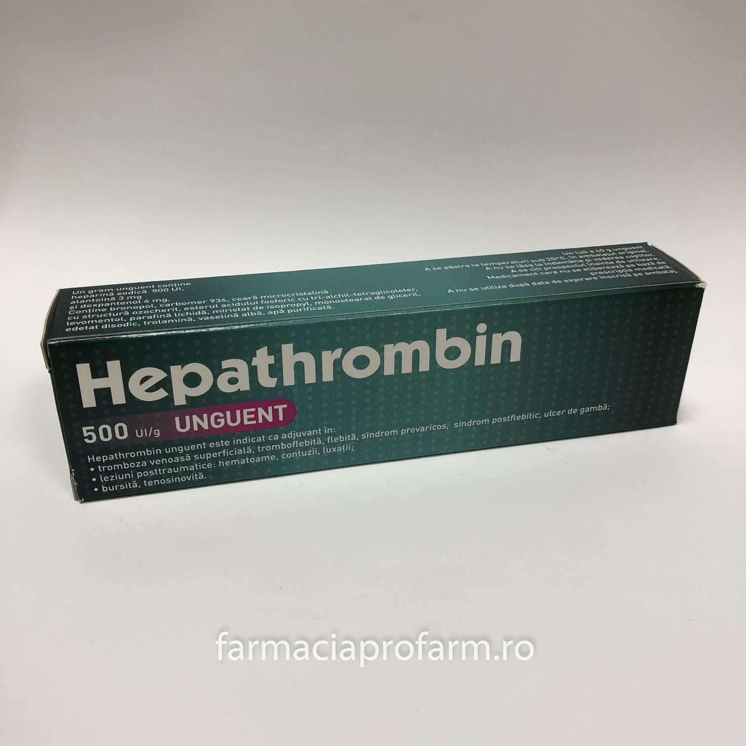 Unguent de heparină pentru negi