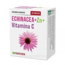 ECHINACEEA+ZINC+VIT C 30 comprimate