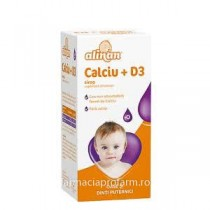 ALINAN CALCIU  + D3 SIROP 150ML