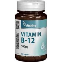 VITAMINA B12 500MCG 100 comprimate