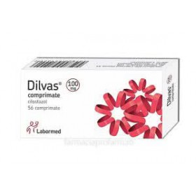 Dilvas 100 mg x 56 compr