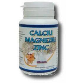 CALCIU MAGNEZIU ZINC 50 comprimate