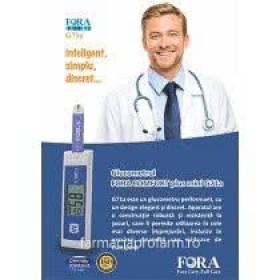 FORA G71a - sistem de monitorizare a glicemiei (trusă glucometru)