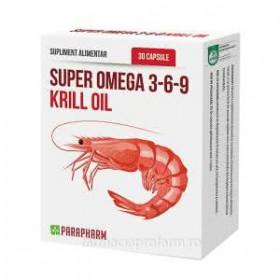 SUPER OMEGA 3-6-9 KRILL OIL 30 capsule