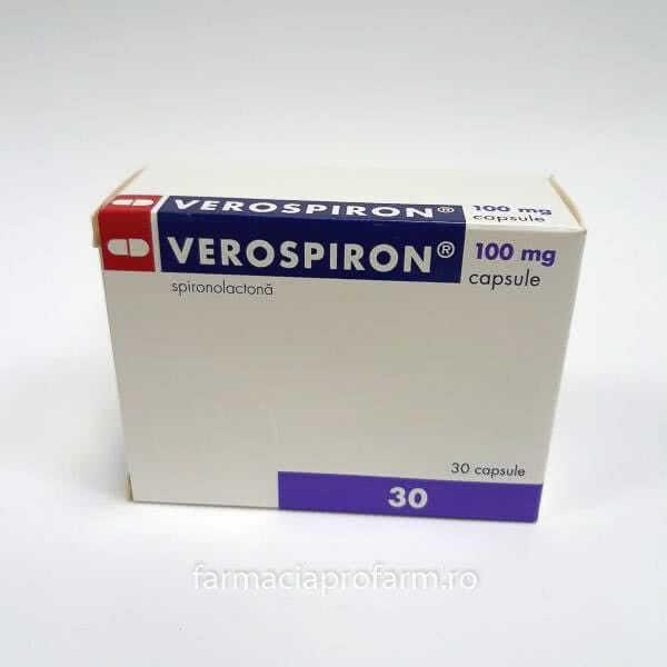 Prospect Verospiron | Diuretic Tensiune arteriala ridicata